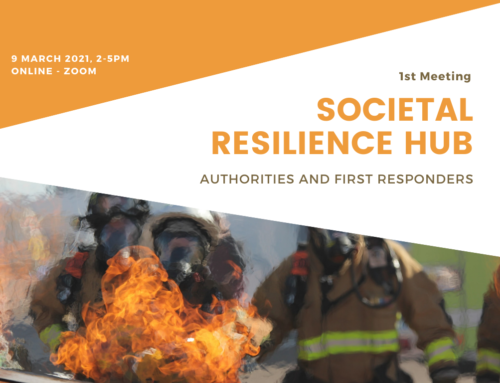 1st Societal Resilience Hub: Meeting First Responders and Authorities