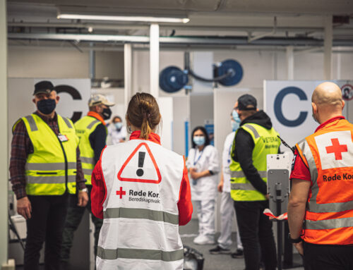 Discover Norway's largest volunteer disaster preparedness organization: the Red Cross