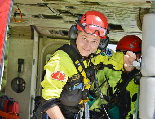 Get to know our end-users! Firefighter Federico Brizio